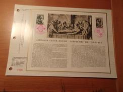FRANCE (1973) CROIX ROUGE Sépulchre De Tonnerre (COGNAC,TONERRE) - Documents De La Poste