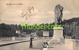 CPA  BARRAGE DE LA GILEPPE - Gileppe (Stuwdam)