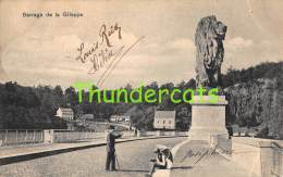 CPA  BARRAGE DE LA GILEPPE - Gileppe (Barrage)