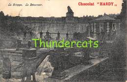 CPA  LA GILEPPE LE DEVERSOIR CHOCOLAT HARDY - Gileppe (Stuwdam)