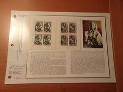 FRANCE (1973) CROIX ROUGE Sépulchre De Tonnerre (COGNAC,TONERRE) Carnet - Documents De La Poste