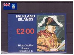 îles Falkland 1977 - MNH ** - Monarchies - Reine Élisabeth II - Carnet Michel Nr. 249-251 Série Complète (fal004) - Falkland Islands