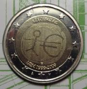 ===== 2 Euros Commémo. ''10 Ans'' Luxembourg 2009 étât BU ===== - Luxemburgo