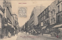 Rue Ménilmontant - Arrondissement: 20