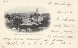 (54) Saint St Nicolas De Port - Avenue De La Gare - 1899 - Saint Nicolas De Port