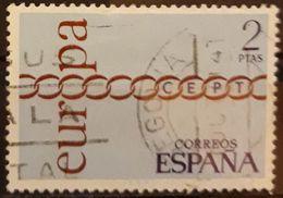ESPAÑA 1971 Europa. USADO - USED. - 1931-Aujourd'hui: II. République - ....Juan Carlos I