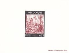 Andorra Francesa Nº 184 Al 187 En Pruebas - Unused Stamps