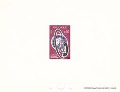 Andorra Francesa Nº 182 En Prueba - Unused Stamps