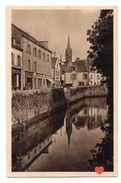 18912-LE-29-LA DOUCE FRANCE-BRETAGNE--PONT-AVEN-Les Quais En Bordure De L' Aven - Pont Aven