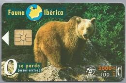 ES.- Telefonica De Espana. CabiTel. Oso Pardo. Ursus Arctos. Beer. Fauna Iberica. 2 Scans - Telefoonkaarten