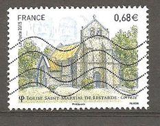 FRANCE 2015 - Oblitéré - Y.T.N° 4967 - Eglise St.Martial - Used Stamps