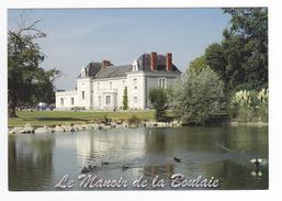 44 Haute Goulaine Vers Nantes Restaurant Le Manoir De La Boulaie L Et B Saudeau Prix VOIR DOS Académie Charles Monselet - Haute-Goulaine