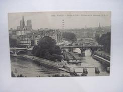 CPA  PARIS Ile De La Cité Ecluse De La Monnaie T.B.E. - Altri