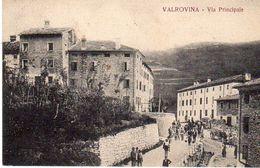 Vicenza -  Bassano D.G. - Valrovina. - Via Principale - - Vicenza