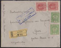 Škedenj - Servola, Registered Cover, Mailed In November 1917 - Briefe U. Dokumente