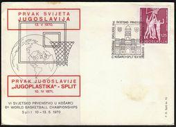 Yugoslavia Split 1970 / Basketball / VIth World Championship - Basketball