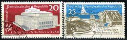 DDR - Michel 781 / 782 - OO Gestempelt (B) - 20-25Pf  Leipziger Herbstmesse 60 - Gebraucht