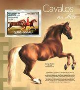 GUINE BISSAU 2012 SHEET CABALLOS HORSES CHEVAUX CAVALOS PFERDEN CAVALLI ART PAINTINGS ARTE PINTURAS Gb12404b - Guinea-Bissau
