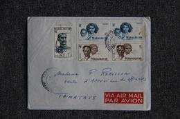 Lettre De MADAGASCAR ( TANANARIVE) Vers TAMATAVE - Madagascar (1889-1960)