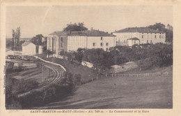 69  : Rhone :     Saint Martin En Haut  .   La Communauté Et La Gare . - France