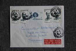 Lettre De MADAGASCAR ( TAMATAVE) Vers TANANARIVE - Madagascar (1889-1960)