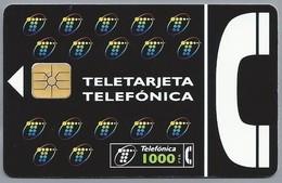 ES.- Telefonica De Espana. CabiTel. Teletarjeta Telefonica. 2 Scans - Spanje