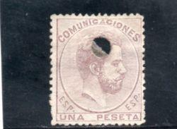 ESPAGNE 1878 TELEGRAPHE - 1875-1882 Regno: Alfonso XII