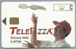 ES.- Telefonica De Espana. CabiTel. TELEPIZZA. Encara Mes A Prop. 2 Scans - Spanje