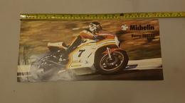 Michelin 1976 500 GP Barry Sheene Manifesto Locandina Poster Originale Piccole Dimensioni  - Genuine Factory Poster - Moto
