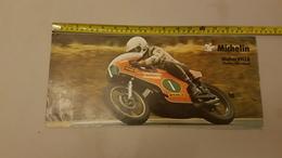 Michelin 1976 250 GP Walter Villa Manifesto Locandina Poster Originale Piccole Dimensioni  - Genuine Factory Poster - Moto