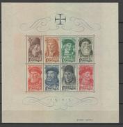 Portugal 1945 Famous Seafarer S/s MNH -scarce- - 1910-... République