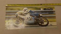Michelin 1976 125 GP Pierpaolo Bianchi Manifesto Locandina Poster Originale Piccole Dimensioni  - Genuine Factory Poster - Moto