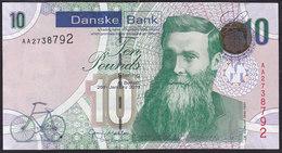 Northen Ireland Danske Bank 10 Pound 2015 P212 AUNC - [ 2] Ireland-Northern