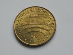 Médaille De La Monnaie De Paris - CHATEAU DE VERSAILLES - 2002    **** EN ACHAT IMMEDIAT  **** - Monnaie De Paris