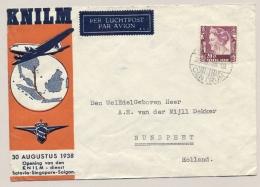 Nederlands Indië - 1938 - KNILM LP-cover Van Batavia Naar Nunspeet / Nederland - Nederlands-Indië