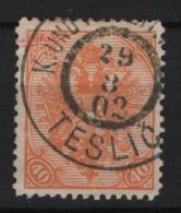 Austria 1900 Bosnia Erzegovina PM Unif .19B Usato/Used VF/F - 1850-1918 Impero