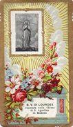 BEATA  VERGINE  DI  LOURDES    , Modena  , Chiesa Di  S. Agostino  ,  Santini  , Holy  Card - Devotion Images