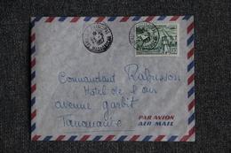 Lettre De MADAGASCAR ( MORAFENOBE) à TANANARIVE - Madagascar (1889-1960)