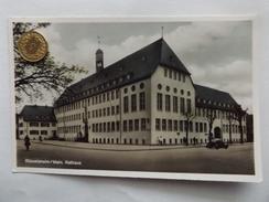 Rüsselsheim/Main, Rathaus, Altes Auto, Fini Eich, Inh. Rudolf Taschner, 1953 - Ruesselsheim