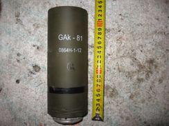 GAk-81 Smoke Grenades Of The Tank!! OBUS Projektil Neutralisé Nebel - Decorative Weapons