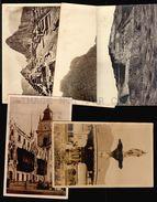 PERU ARCHAEOLOGY ETHNIC 5 OLD REAL PHOTO POSTCARDS AREQUIPA TRUJILLO MACHU PICHU (W4_3693) - Perú