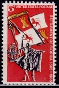 United States, 1965, Florida Settlement, 5c, Sc#1271, MNH - Unused Stamps