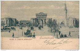 Turquie  CONSTANTINOPLE -  Entrée  Et Tour Du SERAS KIERAT,   En 1898 - Turkey
