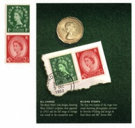 """GREAT BRITAIN 2002 New Wildings Ex """"Gracious Accession"""" PSB: Set Of 3 Stamps UM/MNH - 1952-.... (Elisabetta II)"""