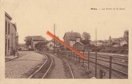 MOHA - La Poste Et La Gare -  Superbe Carte - Wanze