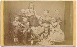 CDV ± 1880, Family, 3 Generations - Photographs