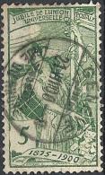 Svizzera, 1900 UPU Allegory, 5c Green  # Michel 71 - Scott 98 - Uni 86  USED - Oblitérés