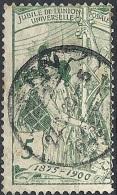 Svizzera, 1900 UPU Allegory, 5c Green, Re-engraved # Michel 71 - Scott 101 - Uni 89  USED - Oblitérés