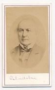 CDV William Gladstone With Autograph - Photographs