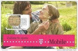 SIM CARD * GSM * T-MOBILE * MOBILE * WOMAN * GIRL * MAN * BOY * T-Mobile 08 * Slovakia - Slovaquie